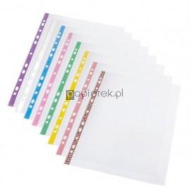 Koszulki na dokumenty z kolorowymi brzegami A4 20SZT