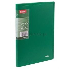 Teczka ofertowa A5 20 koszulek zielona PATIO