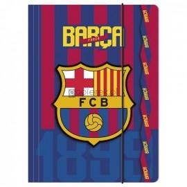 Teczka rysunkowa A4 z gumką FC BARCELONA