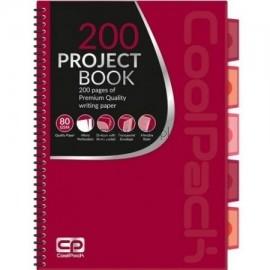 Kołozeszyt A4 CoolPack czerwony
