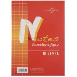 Notes samokopiujący A4 w linię MICHALCZYK