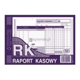 Raport Kasowy A5 oryginał+kopia Michalczyk