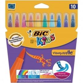 Flamastry Visaquarelle 10 sztuk BIC