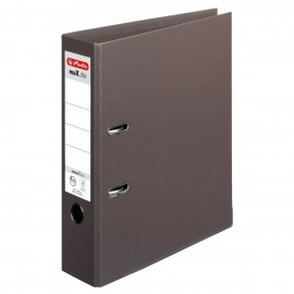 Segregator maX.file protect plus Voll A4 8 cm brązowy Hertliz brązowy