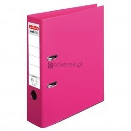 Segregator maX.file protect plus Voll A4 8 cm róż Herlitz