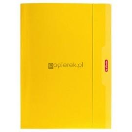 Teczka rysunkowa z gumką Color Blocking A4 HERLITZ żółta