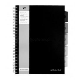 Kołonotatnik brulion project book A4 PUKKAPAD 125k