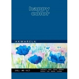 BLOK AKWARELOWY A5 HAPPY COLOR