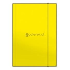 Teczka z gumką A4 Top, żółta Penmate
