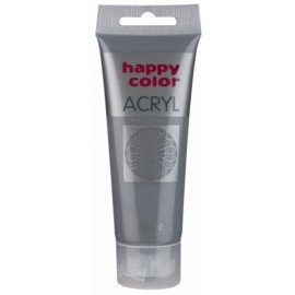 FARBA AKRYLOWA, szary, 75 ml HAPPY COLOR