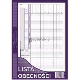 LISTA OBECNOŚCI A4 506-1