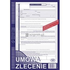 Umowa zlecenie Mipro A4 511-1U