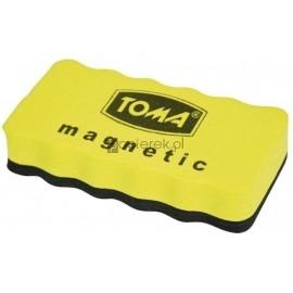 Gąbka do tablic suchościeralnych magnetyczna Toma