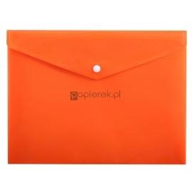 Teczka kopertowa A4 na zatrzask pomarańcz Penmate