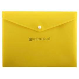 Teczka kopertowa A4 na zatrzask żółta Penmate