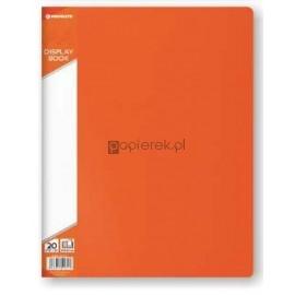 Teczka ofertowa A4 20 koszulek, pomarańczowy Penmate