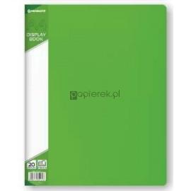 Teczka ofertowa A4 20 koszulek, zielona Penmate