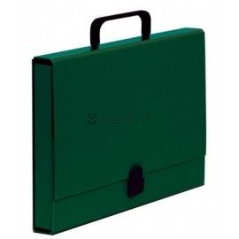 Teczka z rączką VauPe A4 40mm, zielona