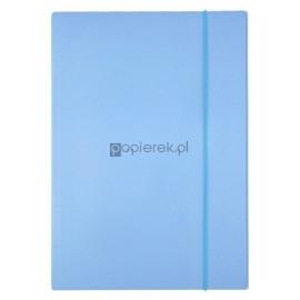 Teczka z gumką A4 Top, niebieska pastelowa Penmate