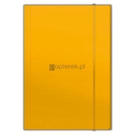 Teczka z gumką A4 Top, pomarańczowa Penmate