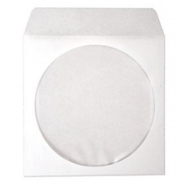 Koperta CD biała NK z okienkiem