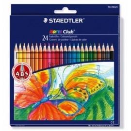 Kredki ołówkowe, Noris Club, 24 kolory STAEDTLER