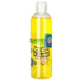 Klej w płynie 250ml Astra, kolor żółty do slimów