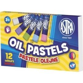 Pastele olejne Astra 12 kolorów