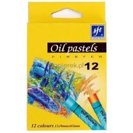 Pastele olejne Firster, 12 kolorów