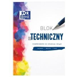 Blok techniczny biały A3 OXFORD 250g