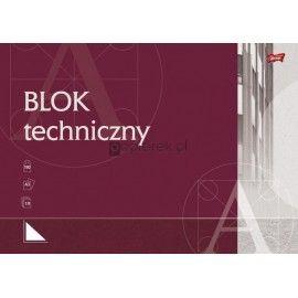 Blok techniczny biały A3 UNIPAP
