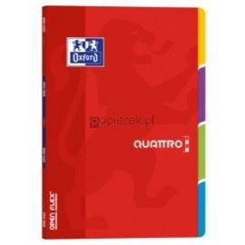 Zeszyt z registrami A4 60K, kratka OXFORD OPEN FLEX QUATTRO