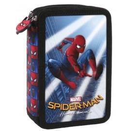 Piórnik trójkomorowy z wyposażeniem Spider-Man 10