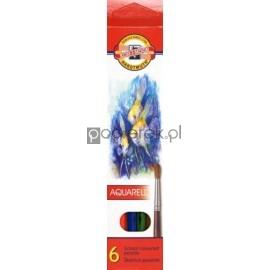 Kredki akwarelowe  6 kolorów Koh-I-Noor