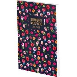 Kalendarz Nauczyciela 2019/2020 A5TN 078 B kwiaty