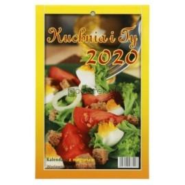 Kalendarz zdzierak z magnesem 2020. Kuchnia i Ty