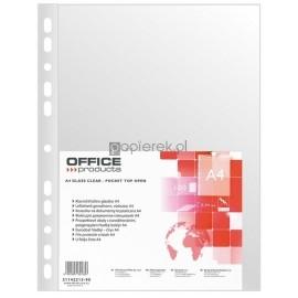 Koszulki krystaliczne Office Products A4 100 sztuk 40um