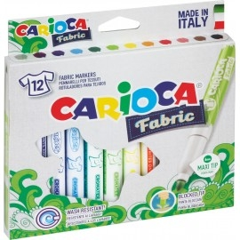 Pisaki Cromatex do tkanin 12 kol. Carioca