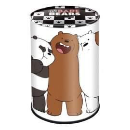 Skarbonka metalowa We Bare Bears