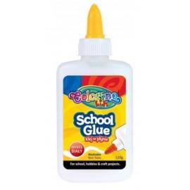 Klej w płynie School Glue, pojemność 120g, po wyschnięciu bezbarwny
