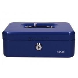 Kasetka metalowa na pieniądze 8878 S niebieska EAGLE