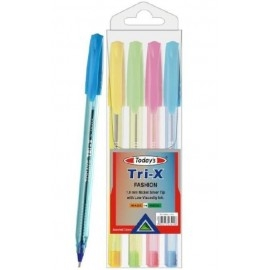 Długopis Today's Fashion neon 4 sztuki Noster Trix