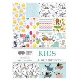 Blok z motywami A4 Kids