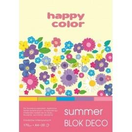 Blok A4 Desco Summer 20k Happy Color