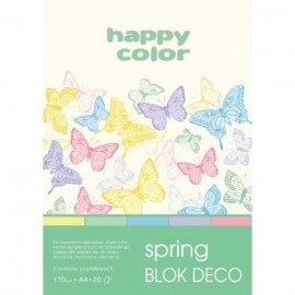 Blok Deco Spring A4 Happy Color 20k