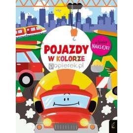 Książeczka edukacyjna Pojazdy W kolorze