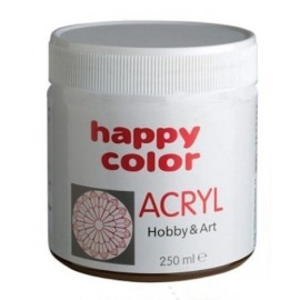 Farba akrylowa Happy Color czarna