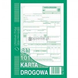 KARTA DROGOWA A5 M&P OFFSET