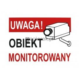 UWAGA! OBIEKT MONITOROWANY LB-47 14x19CM