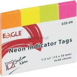 Notes samoprzylepny EAGLE 15×50 zakładka